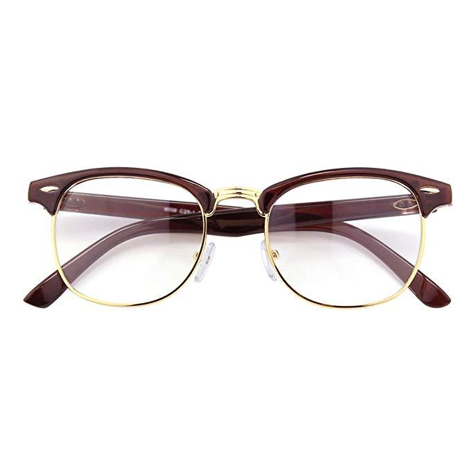 CGID 50er Jahre Retro Nerd Brille