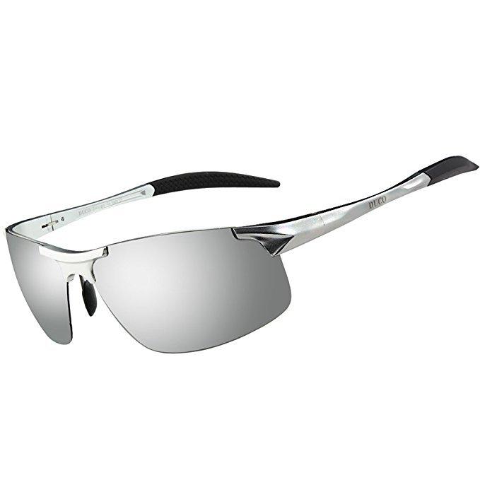 Duco Herren Sportbrille Polarisiert