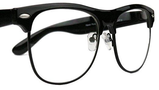 50er Jahre Retro Nerd Brille