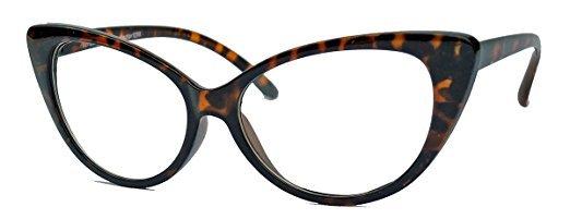No Name Amashades Cat Eyes 50er Jahre Cat Eye Nerdbrille