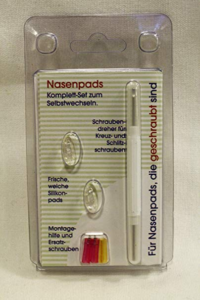 No Name MailShop GmbH Augenoptik Nasenpads aus Silikon