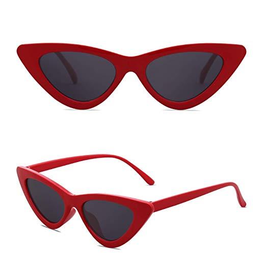 SOJOS Katzenauge Damen Sonnenbrille