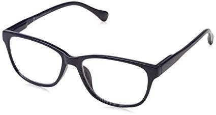 No Name UV Reader Brille Marineblau