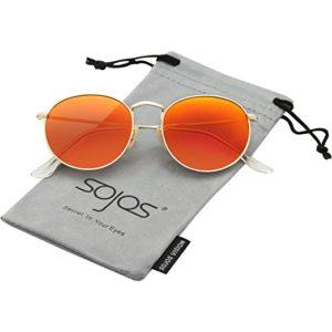 Orangene Brillen