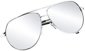Silberne Brillen