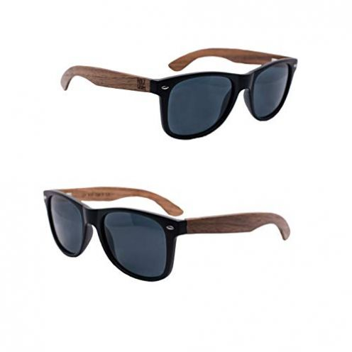 Holzwurm Sonnenbrille mit Holzbügeln aus Walnuss