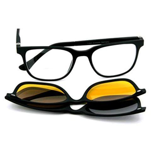 magic-eyewear Bifokal Lesebrille mit Magnet-Sonnenclip