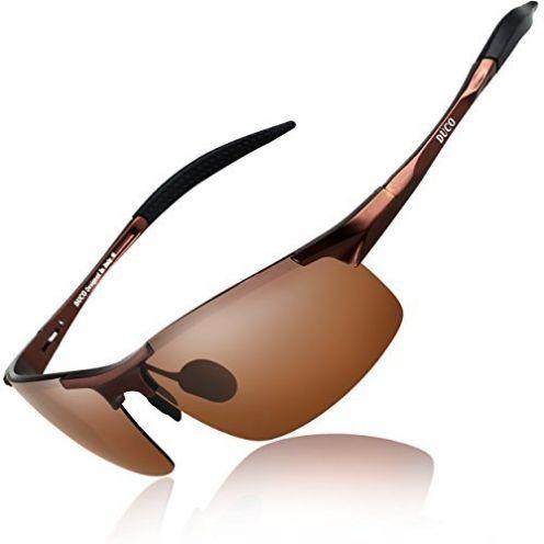 DUCO Herren Sportbrille und Fahrerbrille 8177S