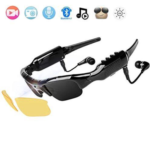 NewZexi Tragbare Bluetooth Sonnenbrille