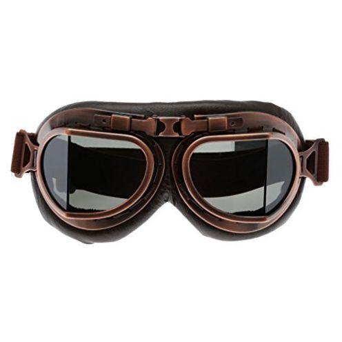 Vespa MUXSAM Helm Steampunk Vintage Sonnenbrille
