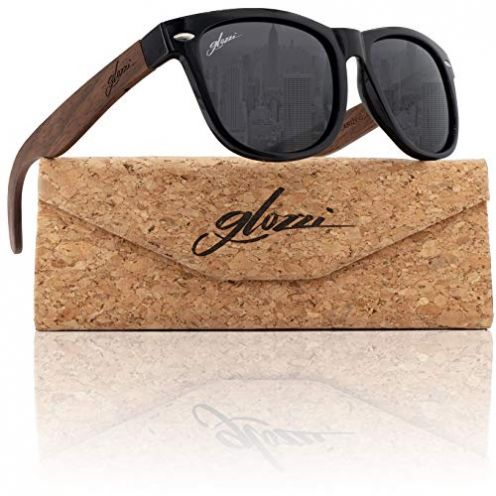 glozzi Walnuss Holz Sonnenbrille