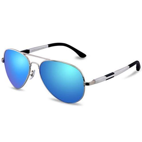 Duco Aviator Stil Polarisierte Sonnenbrille