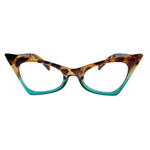 50er Jahre Fashion Brille