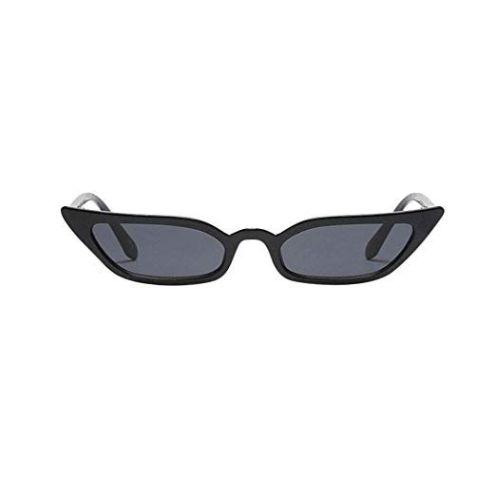 Amcool Damen Vintage Katzenaugen Sonnenbrille