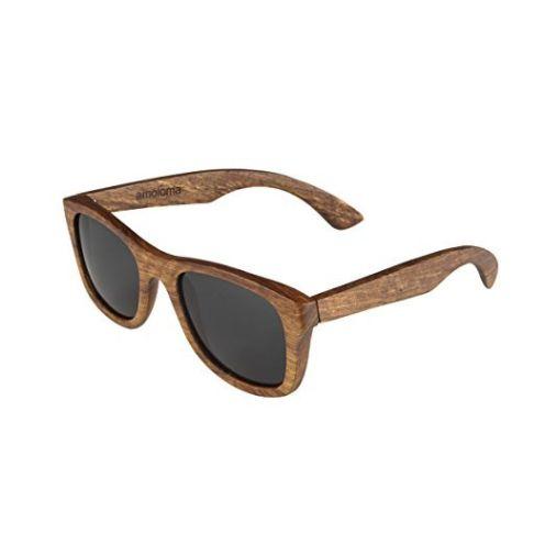 amoloma Holz Sonnenbrille
