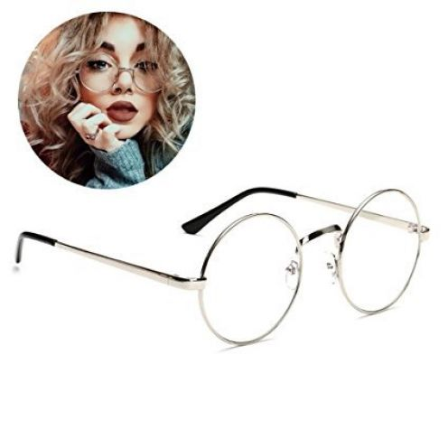 HENGSONG Retro Runde Brille
