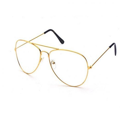 Largeshop Vintage Pilotenbrille