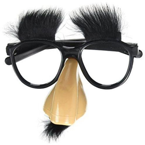 MIK Funshopping Spaß Brille mit Nase 09510