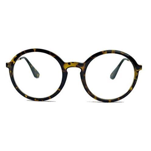 Runde Nerd Brille