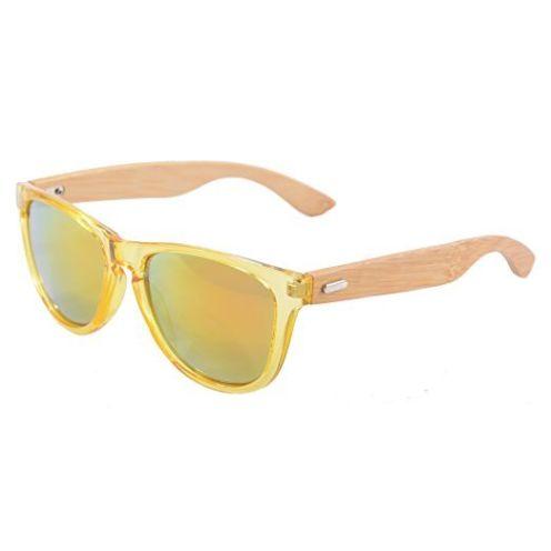 SHINU Wooden Wayfarer-Sonnenbrille