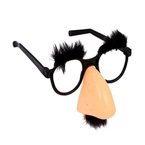 TOOGOO Brille mit rosa Nase