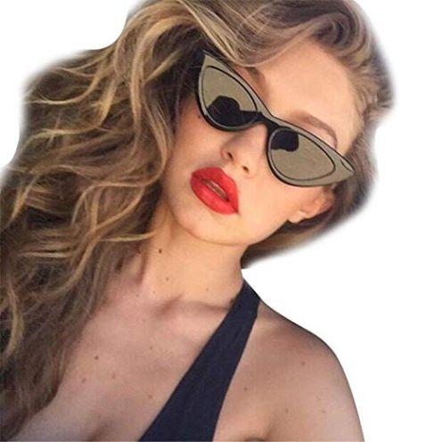 URSING Damen Mode Katzenaugen Sonnenbrille