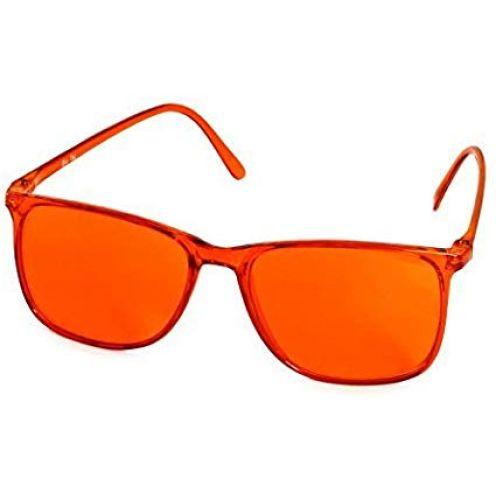 """VANLO Farbtherapiebrille orange""""Elegant"""""""