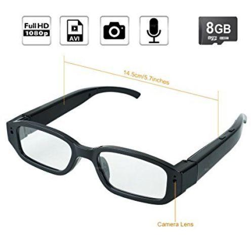 WISEUP Spycam Brille