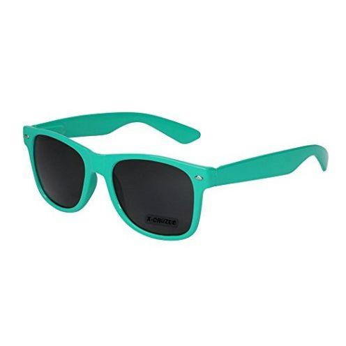 X-CRUZE Nerd Sonnenbrille X23 Türkis