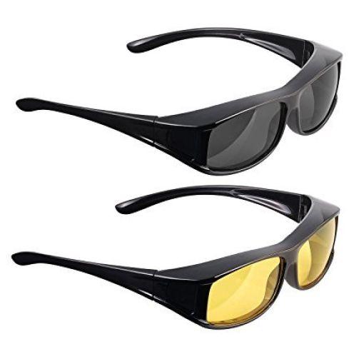 PEARL Überziehbrillen 2er-Set